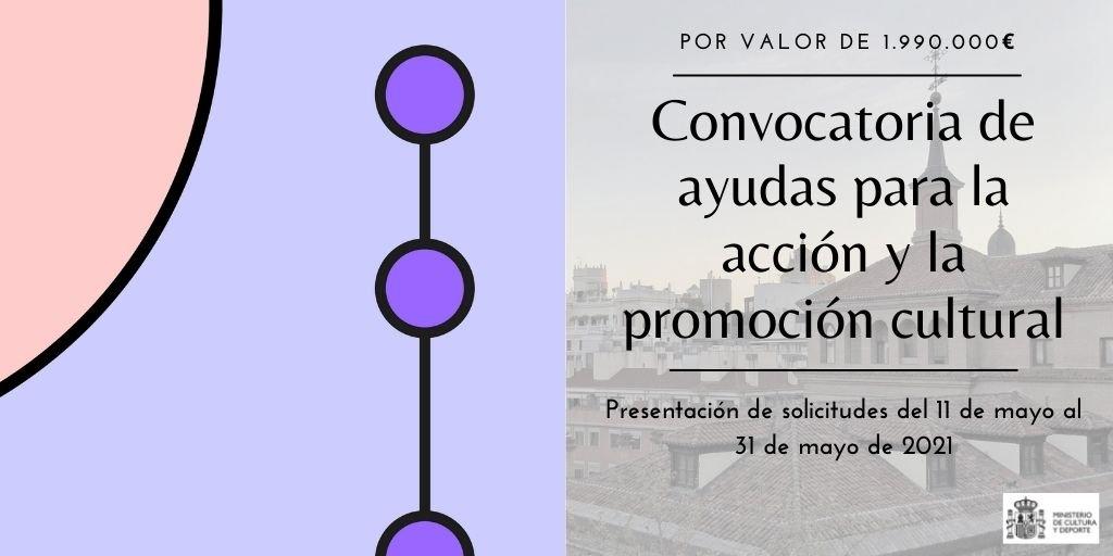 Ayudas para la acción y promoción cultural